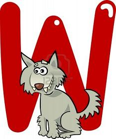 Copy of 13164858-cartoon-illustration-of-w-letter-for-wolf